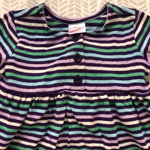 Hannah Multicolored Striped A-line Skirt Size Medium Skirts Clothing, Shoes & Accessories